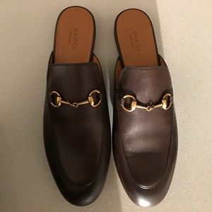 NWT Gucci Brown Loafers size 39